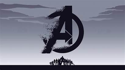 Avengers 4k Endgame Background Wallpapers Resolution Minimalist