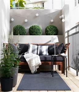 Balkon Bank Ikea : comment am nager son balcon lorsqu 39 il n 39 est pas tr s grand ~ Frokenaadalensverden.com Haus und Dekorationen