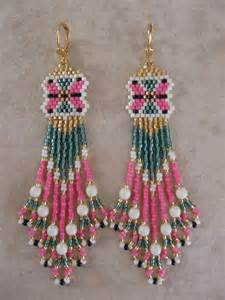 Native American Seed Bead Earring Free Patterns