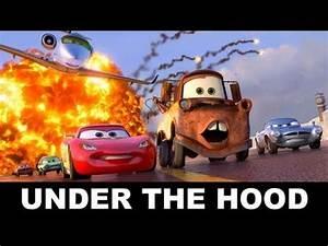 Garage Größe Für 2 Autos : movie bytes cars 2 inside pixar 39 s garage beyond the ~ Jslefanu.com Haus und Dekorationen