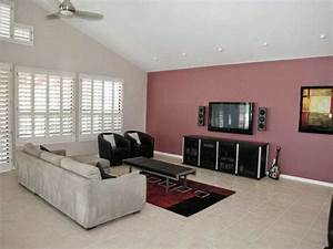 Paint color ideas for living room accent wall for Wall colour design for living room