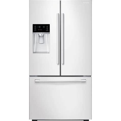 white door refrigerator samsung 28 07 cu ft door refrigerator in white