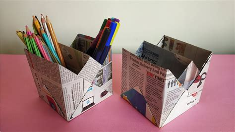 newspaper  stand  holder recycled