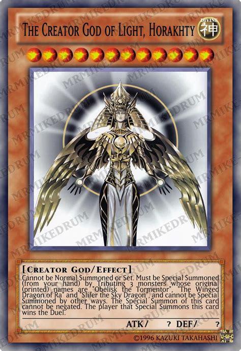 the creator god of light horakhty deck yugioh orica the creator god of light horakhty holo