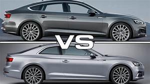 Audi A5 Coupé : audi a5 sportback vs audi a5 coupe youtube ~ Medecine-chirurgie-esthetiques.com Avis de Voitures