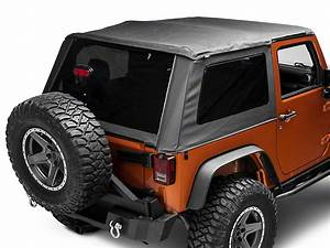 Bestop Jeep Wrangler Trektop Nx Glide Soft Top