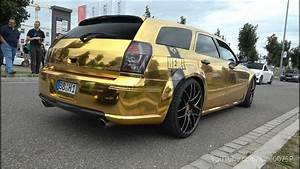 Chrom Gold Dodge Magnum Srt8 Burnout  U0026 Sounds 1080p
