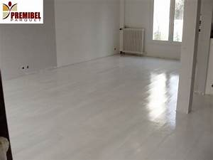Parquet flottant blanc brillant resine de protection for Parquet brillant