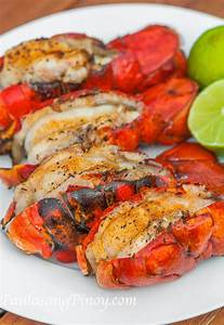 Grilled Lobster Tails Recipe - Panlasang Pinoy