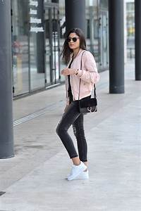 idee look bomber rose tendance printemps 2016 pas cher With blog tendance mode femme