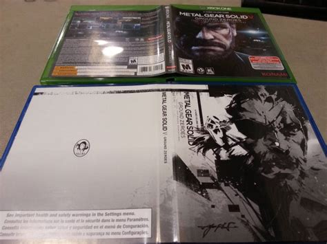 informer metal cover reversible cover for mgsv ground zeroes also in america