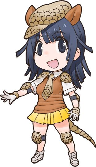 giant armadillo japari library  kemono friends wiki