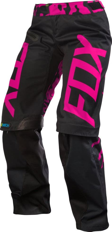 over the boot motocross pants fox racing womens switch over the boot convertible mx