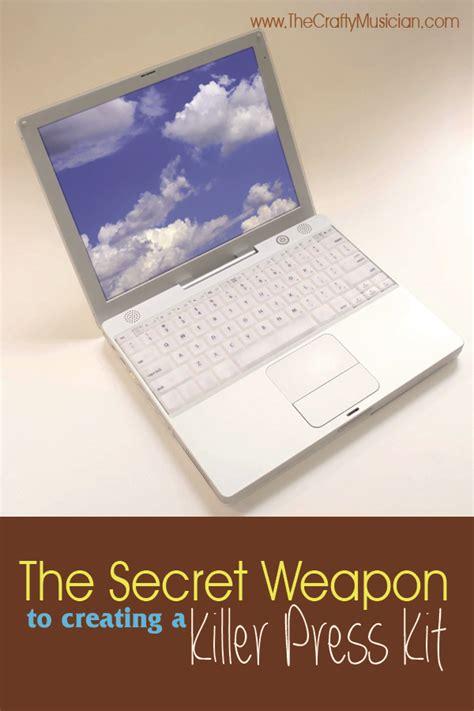 electronic press kit the secret weapon to creating a killer electronic press kit the crafty musician