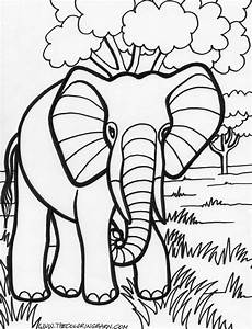 Black Beauty 18 Elephant Coloring Pages Free Printables