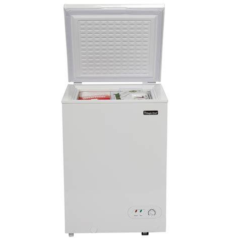 magic chef chest freezer 5 2 magic chef 3 5 cu ft chest freezer in white hmcf35w2