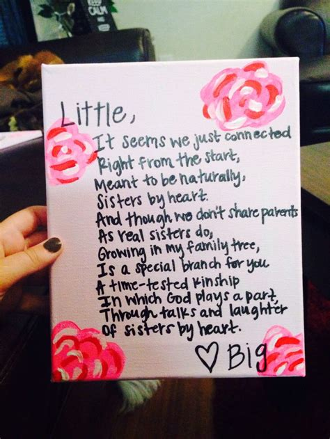big sister little sister greek quotes