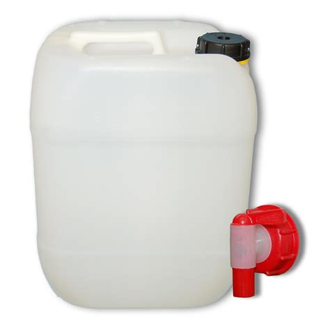 mülleimer 20 liter 20 liter kanister 1 x aft hahn din61