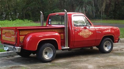 Chuck Norris Truck by 1979 Dodge Quot Lil Express Quot All That S Missing Is