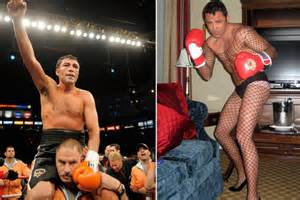 mayweather calls out de la hoya for crossdressing video