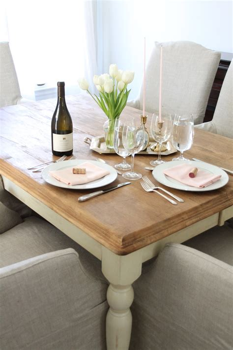 simple table setting for dinner valentine s day table setting