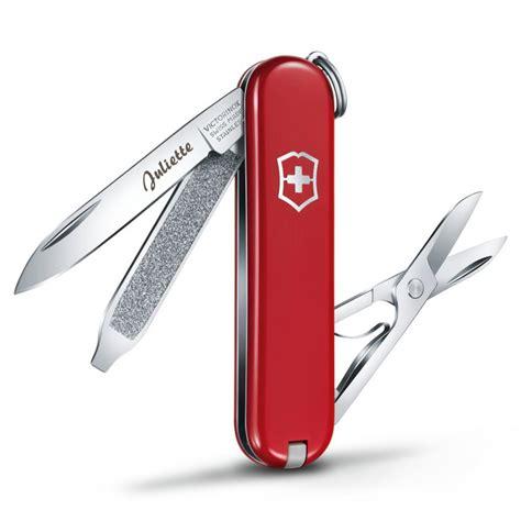 bureau pour tout petit couteau suisse de poche avec gravure une idée de cadeau