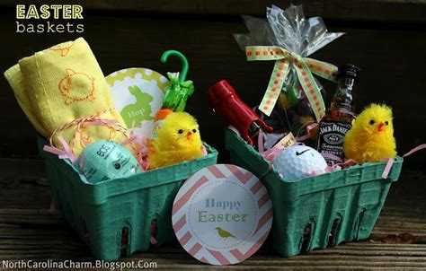 Cute Easter Baskets For Adults... Have To Do This Next