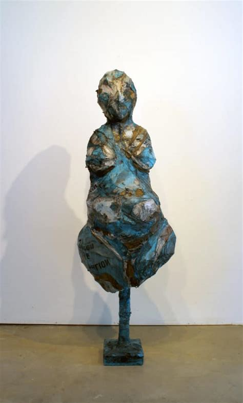 sculptures created  melted plastic bags  ryan lytle