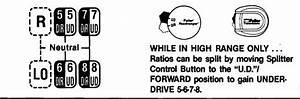 Eaton Fuller 13 Speed Shift Knob Air Line Diagram