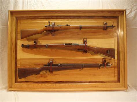 rifle display rack antique gun display by woodshopjoe lumberjocks