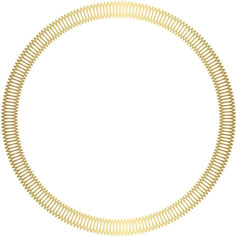 gold deco border transparent clip art image gallery