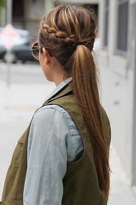 semirecogidos sencillos pelo liso