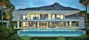 moderne villas en vastgoed te koop in marbella spanje With plan de maison moderne 11 maison contemporaine en floride au design luxueux et