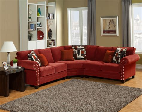 red sectional sofa ashley furniture sectional sofa design good looking red leather sectional