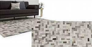 Teppich 240 X 240 : parquet kuhfell teppich 170 x 240 cm graut ne made com ~ Bigdaddyawards.com Haus und Dekorationen