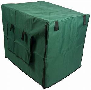 green waterproof dog crate covers With waterproof dog kennel cover