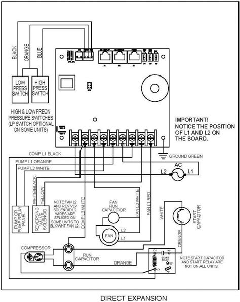 Side Split Air Conditioner Wiring Diagram Field by 223100502 U Circuit Board For Cruisair And Marine
