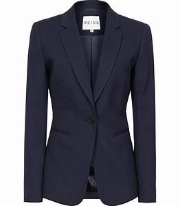 Navy Blazer Jacket Womens | Fashion Ql