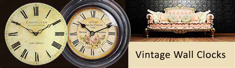Uttermost Clocks Best Prices by Vintage Wall Clocks Shop Vast Selection Best Price Guarantee