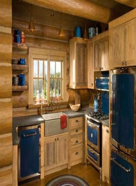 rustic cabin kitchen cabinets best 25 rustic cabin kitchens ideas on log 4962