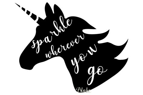 Free unicorn svg cut files for the silhouette cameo and cricut. Unicorn SVG file Unicorn quote svg cut file Unicorn ...