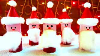 toilet paper roll santa claus ornaments how to make ornaments