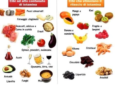 alimenti senza istamina guarisce da asma cronica e rinite allergica eliminando il