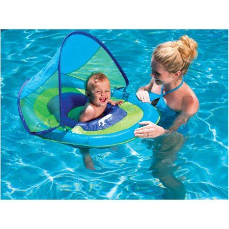 baby pool float with canopy swimways baby float sun canopy float for swimming