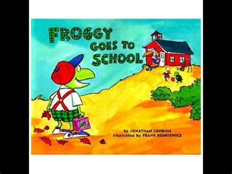 froggy goes to school read along aloud story audio book 390 | hqdefault