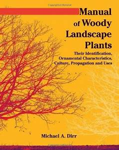 Manual Of Woody Landscape Plants  Their Identification