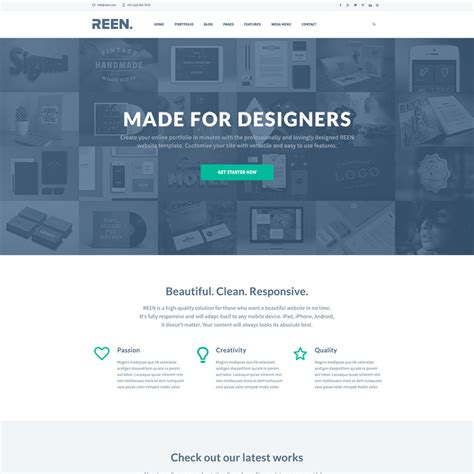Page Template by 23 Free One Page Psd Web Templates In 2017 Colorlib