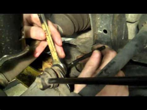 power rubber hex clunking sound replacing sway bar link by shayne b