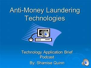 anti money laundering program template - anti money laundering technologies authorstream