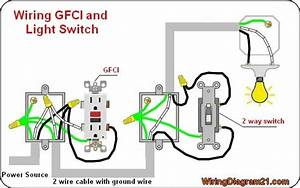 Gfci Outlet Wiring Diagram En 2019